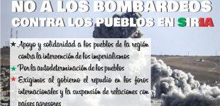 Argentina: Radio abierta en solidaridad con los pueblos de Siria