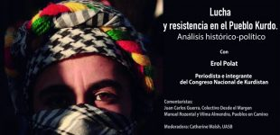 Charla en Ecuador sobre la lucha y la resistencia del pueblo kurdo