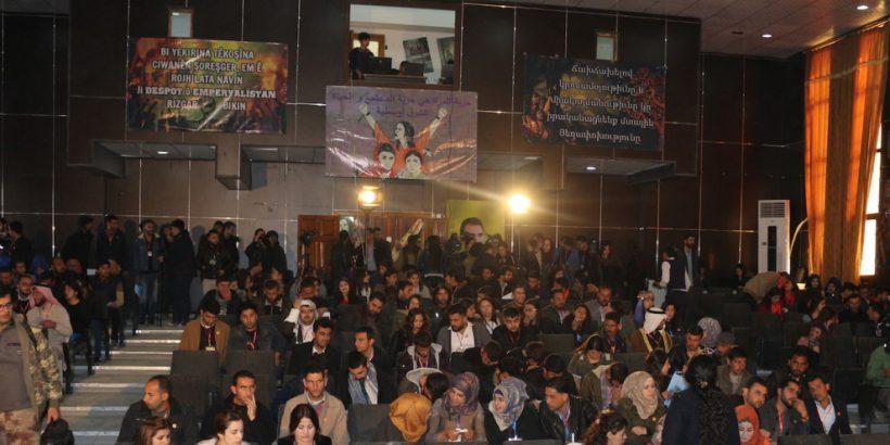 Conferencia Jovenes Medio Oriente Kobane